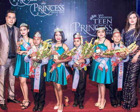 Niraula crowned Teen Princess Diva