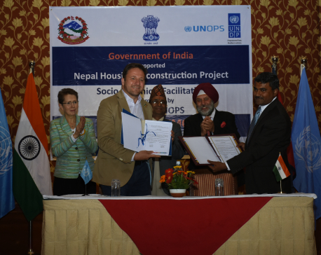 Govt of India, UNDP partners to reconstruct 50,000 homes