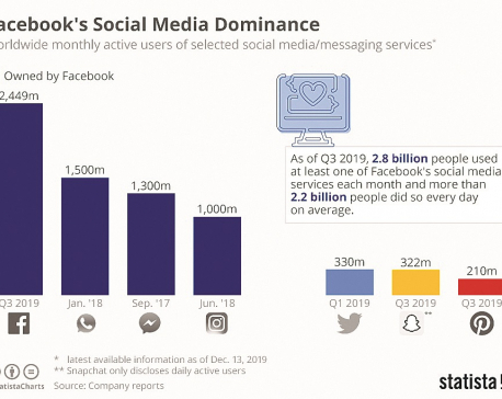 Facebook's social media dominance