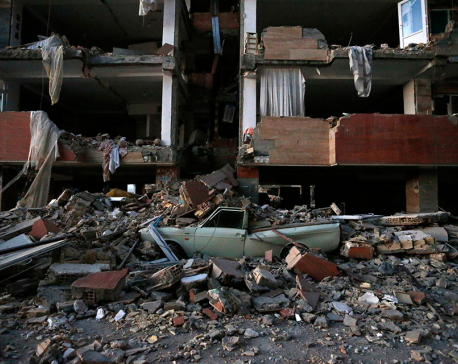 Iran-Iraq border quake death toll climbs to 207