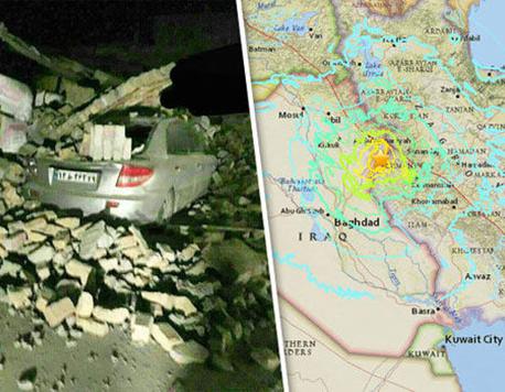 Strong earthquake hits Iraq and Iran, killing more than 130