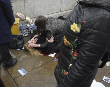 Five dead, around 40 injured in UK parliament 'terrorist' attack (update)