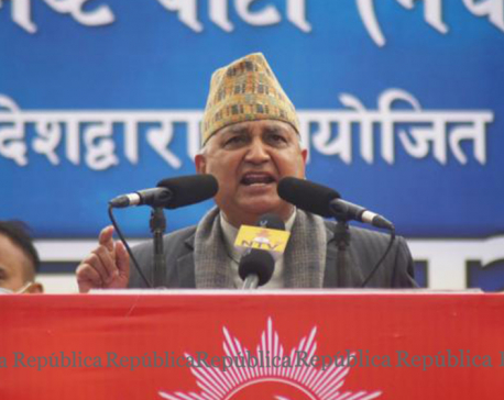 Only fresh election can correct derailed political course: DPM Pokharel