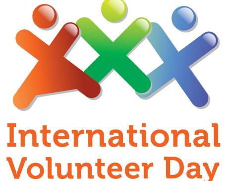 International Volunteer Day being observed