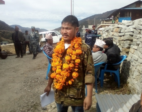 NCP's Janak Budamagar becomes ward chairperson of Thawang-1 of Rolpa