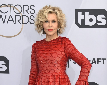 Jane Fonda arrested protesting climate change in Washington