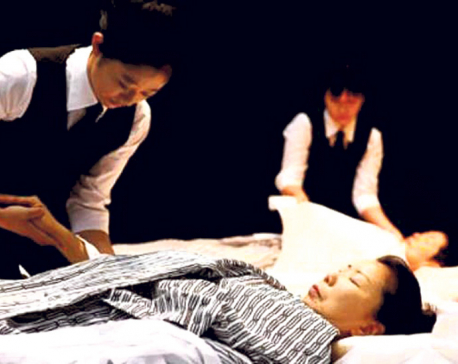 Japan undertakers tested on how to dress a corpse