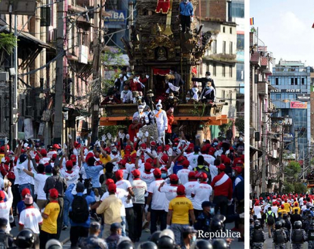 PHOTOS: Rato Machhindranath Chariot pulled for the year