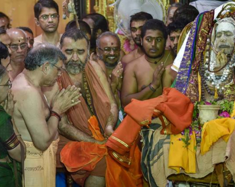 Kanchi Sankara Mutt's Sri Jayendra Saraswathi laid to rest next to his guru