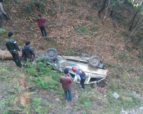 Seven killed in Dadeldhura jeep accident