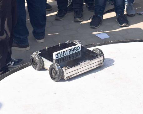 ROBOTS GARNER ATTENTION AT CAN INFO-TECH 2018