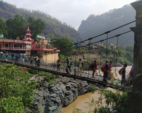 Jhulaghat border point to open for three days from today to rescue stranded Nepalis