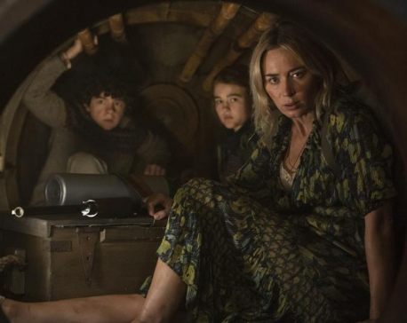 Fueling box office rebound, 'Quiet Place' opens with $58.5M