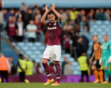 Terry makes Villa debut in opening-day draw with Hull