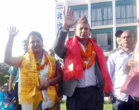 NC registers candidacy for Mayor and Deputy-Mayor in KMC