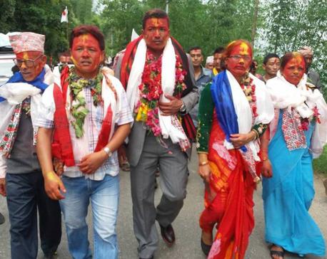 Journalist Shrestha elected as ward chief