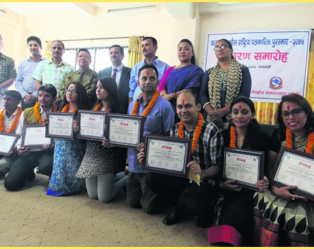 Journos feted with National Child-sensitive Journalism Award-2074