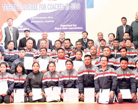 Judo Olympics Solidarity Course completed