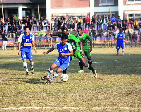Jhapa storms into Kakarbhitta final