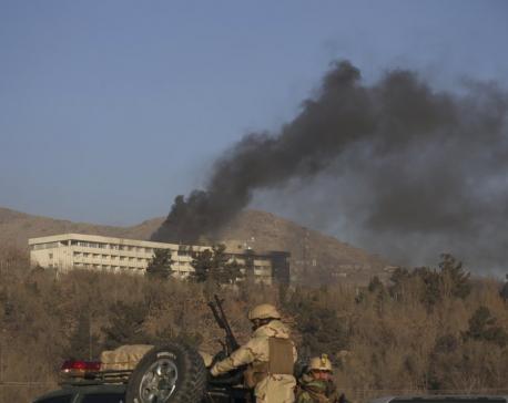Gunmen assault luxury hotel in Afghan capital, 5 dead