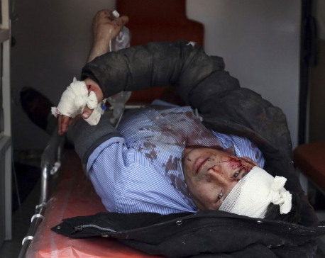Bomber in ambulance detonates at Afghan checkpoint; 95 dead (Update)