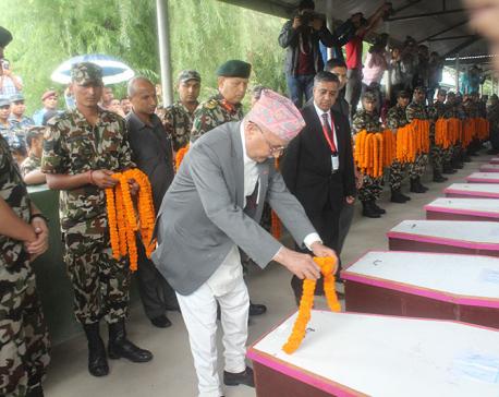 Killing of innocent Nepalis cowardly and inhuman: PM Oli