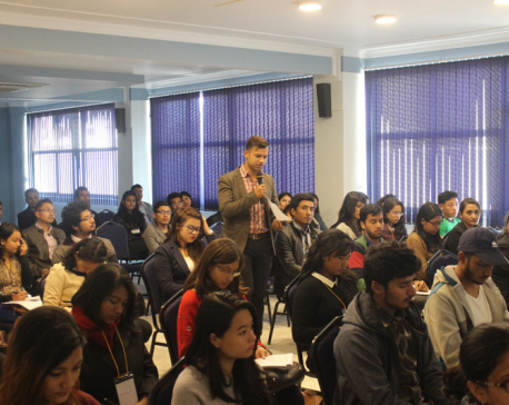 Workshop on resume building, mock interview session at KUSOM