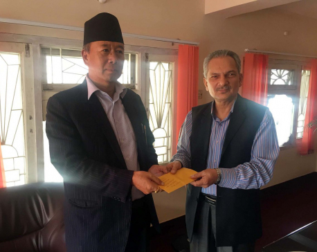 Khapung named chief commissioner of discipline commission in Naya Shakti