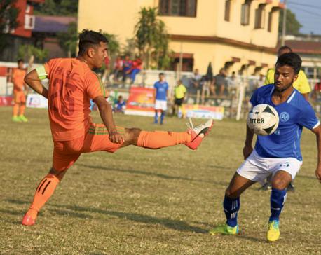 Kakarbhitta reaches last four
