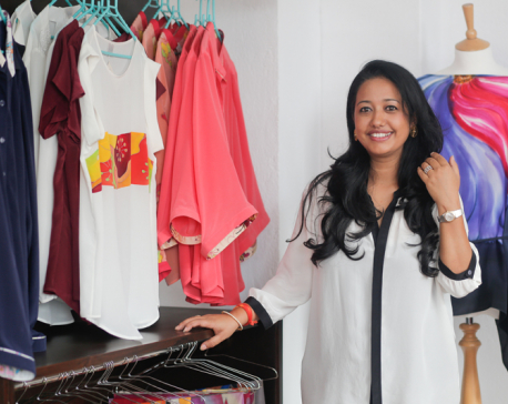 Seasoned Nepali designer launches her own brand