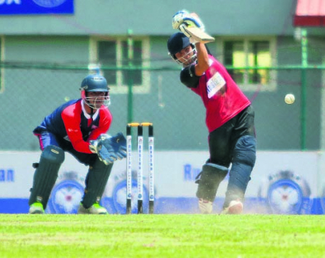 Kandel's five-wicket haul guides Police to defeat Far West