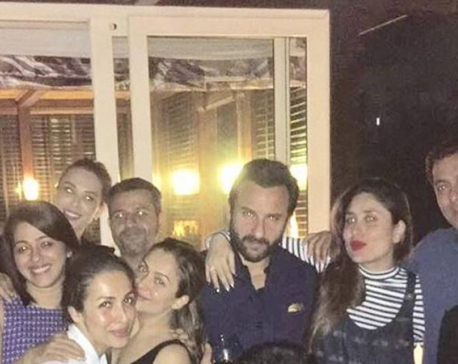 Kareena Kapoor parties with Salman Khan, Iulia Vantur