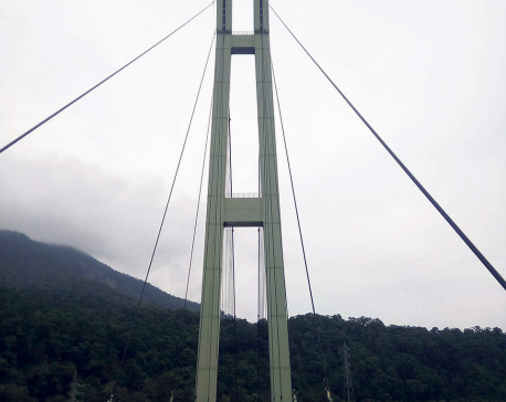 Karnali bridge starts to wear down due to lack of repair