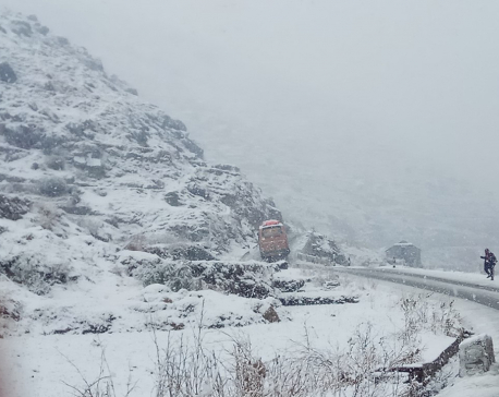 Snowfall in higher belts affects normal life (with photos)