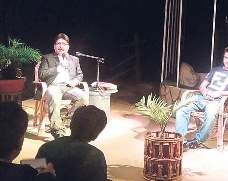 'Kathakram' starts with Pandey and Banjade's stories