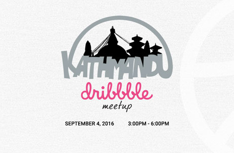 Kathmandu Dribbble Meetup in September