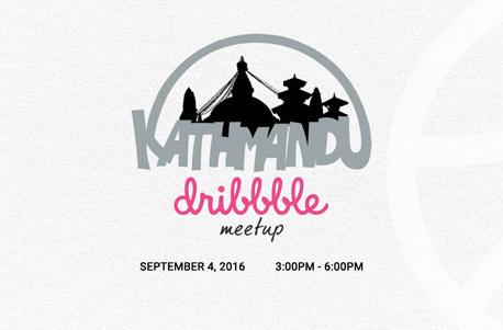 Kathmandu Dribbble Meetup in September