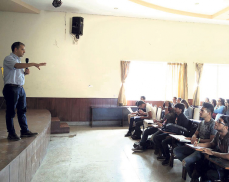 Republica at Kathmandu College of Management