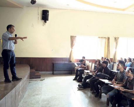 Republica at Kathmandu College of Management