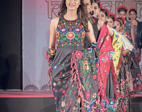 Khadi Era At India-Nepal Fashion Event