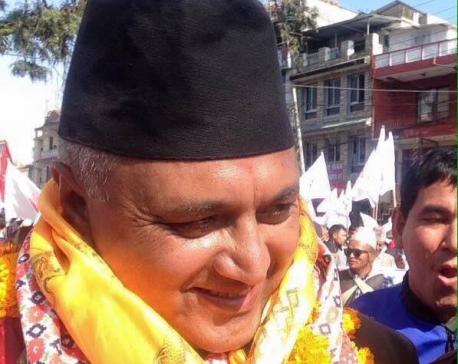 Khaga Raj Adhikari wins in Kaski-1