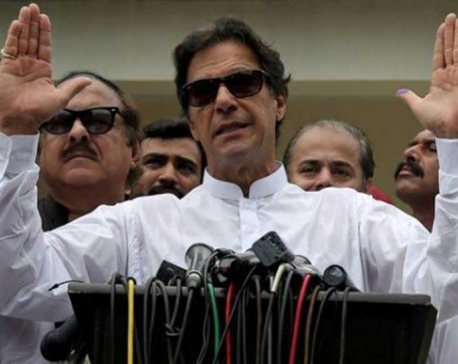 Pakistani PM Khan decries 'Arrogant' India for canceling talks