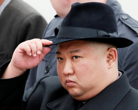 North Korea's Kim offers condolences to China's Xi about virus outbreak - KCNA