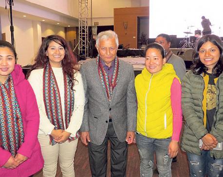 Kripa Foundation felicitates singers