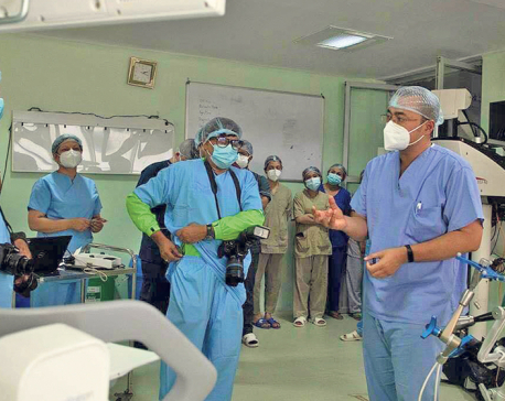 KMC starts robotic surgery service for first time in Nepal