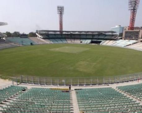 Kolkata rain delays toss in India v Sri Lanka opener