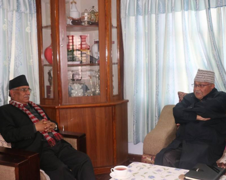 Oli, Dahal focused on party unity and NA election