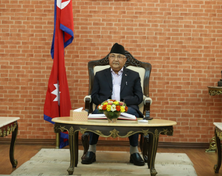 Govt working to retrieve encroached territory: PM Oli