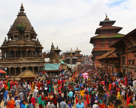 Devotees throng Krishna temple (Photo Feature)