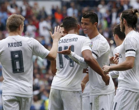 Real Madrid dominate nominations for Champions League awards